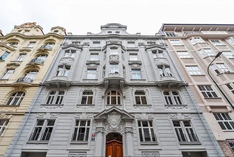 View from Gorazdova street